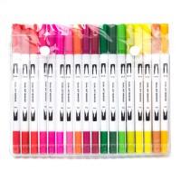 Buntstifte Pinselstift Aquarellstifte Set 36 Farben Stifte Brush Pen