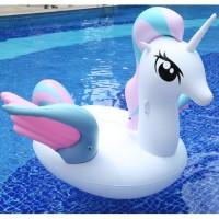 Pferd Schwimminsel Luftmatratz Schwimmtier Schwebebett Sofa 120cm
