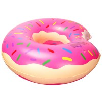 Krapfen Schwimminsel Luftmatratze Schwebebett Sofa 110cm aufblasbar