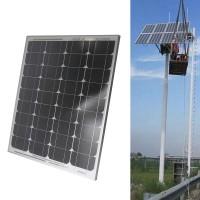 Solarpanel Solarzell Solarmodul Monokristallin Modul 50W Aluminum