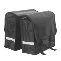Fahrradtasche Gepäckträger Fahrradtasche Handtasche f. Fahrrad schwarz