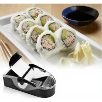 Sushi Rollen Maschine Kit DIY Magic Gadget Roller Gerät Schwarz