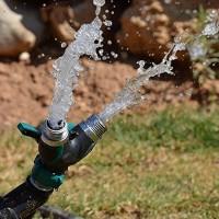 Wasserdurchfluss 2 Wege Verteiler Schlauch Wasserhahn Adapter grün