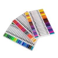 Pinselstift Buntstifte Stifte Set Wasserfarben Effekt 60 Farben Stifte