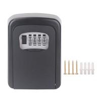 Schlüsseltresor Schlüsselsafe Schlüsselbox für Wandmontage Schwarz