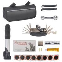 Fahrrad-Multitool Werkzeuge für Fahrrad Reparatur 16in1 Set mit Tasche