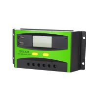 Solar Panel Regler Laderegler Stromanzeige mit LCD Display PWM 30A