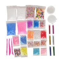 Slime Supplies Kit 35 Pack Schleimperlen Charms gehören Set Spielzeug