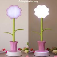 Leselampe Tischlampe Nachttischlampe mit Touchsensor für Kinder 3W