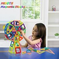 Magnetisch Bauklötze Bausteine Blöcke Pädagogisch Spielzeug 110er Set