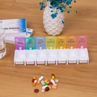 Medikamentendose Tabletten Wochenbox Pillendose Pillenbox 7 Tage