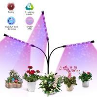 LED Pflanzenlampe Wachstumslampe Vollspektrum für Zimmerpflanzen 27W