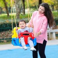 Sitzschaukel Kinderschaukel Baby Garten Schaukel 3in1 Kinder Spielzeug