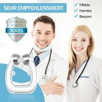 Schnarchstopper Nasenklammer Schnarchschutz inkl. Transportbox 2pcs