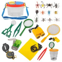 Adventurer Explorer Draussen Forscherset Spielzeug 23er für Camping