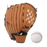 Baseball Glove Batting Handschuhe mit Einem Ball Softball Handschuhe
