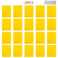 Fliegenfalle Gelbstecker 20er Fänger Gelbsticker für Pflanzeninsekten