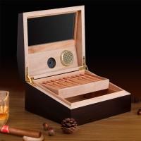 Humidor Luftbefeuchter Zigarren Aufbewahrungsbox Zigarrenschrank