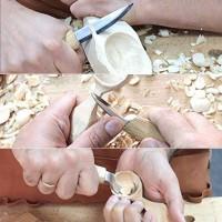 Schnitzmesser Skulptur Schnitzen Kerbschnitzmesser Werkzeug 5er Set