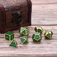 Zinklegierung Metall Polyedrische 7er Würfel Set für Würfel Gaming