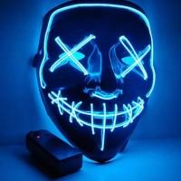 Light up Mask für Halloween Festival Cosplay Halloween Kostüm Party