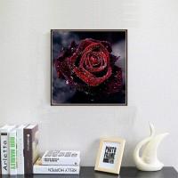 5D Diamant Malerei Kit DIY 5D Diamant Painting Rose für Home Wand