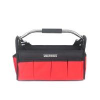 Werkzeugtasche Montagetasche Werkzeugbox mit Schultergurt schwarz