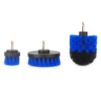 3er Drill Brush Bohrmaschine Bürstenaufsatz Scrubber Reinigung Kit
