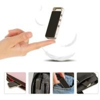 Diktiergerät Aufnahmegerät 8GB Audio Voice Recorder MP3 Player schwarz