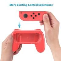 Ersatz Joy Con Griff Grips für Switch 2 Stück Pack für Nintendo Switch