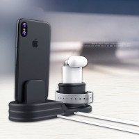Ladestation Dock Station Halterung 3 in 1 für iwatch Airpods iPhone