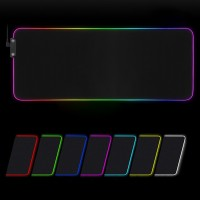 LED Gaming Mauspad RGB Mauspad Gaming Mouse Mat Anti Rutsch Matte