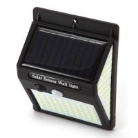 Solarlampen Solarlicht Solarleuchte Wandleuchte 140 LED für Garten