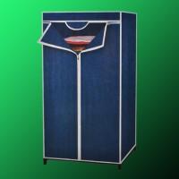 Kleiderschrank Garderobenschrank Campingschrank dunkelblau