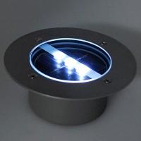 Solarbetriebene LED Bodeneinbauleuchte Außenleuchte Wasserdicht