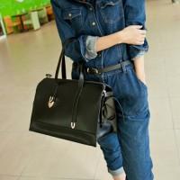 Damen Handtasche PU Schultertasche Bag