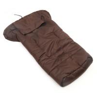 Kinderwagen warmen Schlafsack Winterfusssack Kaffeebraun