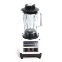Plastik Hochleistungsmixer Standmixer Blender 2 Liter 2200 Watt