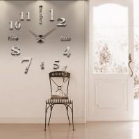 Wanduhren Wandsticker Uhr Uhrwerk Uhrenteile 100x100cm