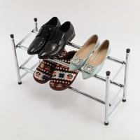 Schuhständer metall mit Doppelfächer Schuhregale