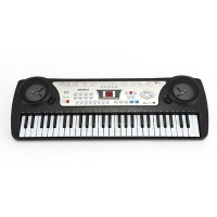Keyboard E-Piano Kinder Klavier mit Mikrofon,  54 Tasten Keyboard