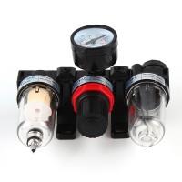 Druckluft-Wartungseinheit, Wasserabscheider, Druckminderer