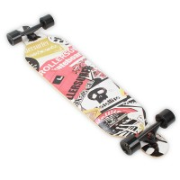 Longboard Retro Skateboard Decks 41""