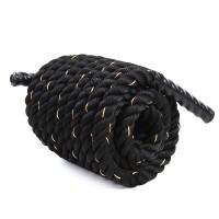 Battle Rope Schwungseil Schlangenseil 15M Schwarz Fitness Φ 3.8cm