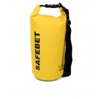 20L Trockentasche Stausack Aufbewahrungstasche Packsack Gelb f.Reisen Rafting Segeln
