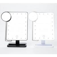 Schminkspiegel, Kosmetikspiegel, Make up Spiegel mit 20 LEDs, 10fach