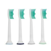 Zahnbürstenaufsatz Aufsteckbürsten 8 Stück Ersatzbürsten Set Bürstenkopf weiß für Philips Sonicare