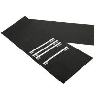 Dartmatte, Gummimatte Dartzubehör für Steeldart Softdart,Dartmatte verfügt über 4 Markierungenaus, Gummim, ca. 300 x 61 cm