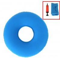 Orthopädischer Sitzring Dekubitus Kissen, ringförmig Sitzkissen blau