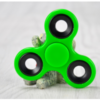 Fidget Spinner Hand Spinner grün Finger Kreisel, Edelstahl Kugellager